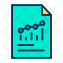 Analysis File Document Corporate Report Icon