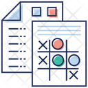 Stats Report Business Report Statistical Analysis Icon