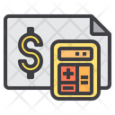 Report Cash Accounts Icon