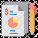 Doccument Report Graph Icon