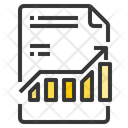 File Business Growth Up Growth File Graph Icon
