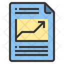 Report Arrow Business File File Icon