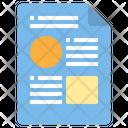 Report Business File File Icon