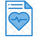 Report Heartrate Report Heart Report Icon