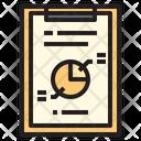 Report Chart Report Clipboard Icon
