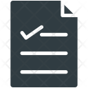 Report List Chart Icon