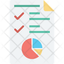 Circular Chart Infographic Pie Chart Icon