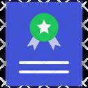Report Certificate Award Icon
