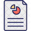 Report Document Financial Graph Icon