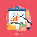 Report Marketing Concept Icon
