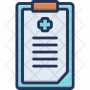 Report Medical Result Icon