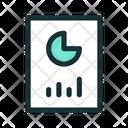 Report Graph Chart Icon