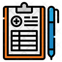 Clip Board Report Icon