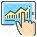 Growth Tablet Hand Icon