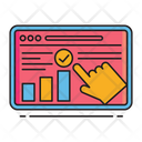 Report Business Report Editing Icon