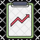 Report Graph Marketing Icon
