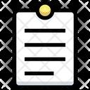 Report Document Paper Icon