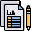 Business Marketing Report Icon