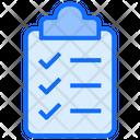 Report Clipboard Document Icon