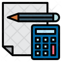 Report Bookkeeping Calculation Icon
