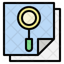 Report Paper Research Icon