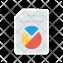 Report Graph Sheet Icon