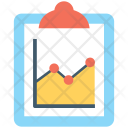Report Graph Analytics Icon
