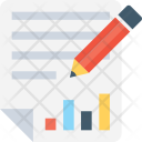 Report Graph Pencil Icon