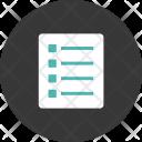 Data Report Paper Icon