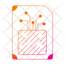 Report Puce Technology Icon