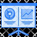 Report Metrics Presentation Icon