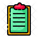 Report Task Schedule Icon