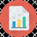 Financial Report Graph Icon