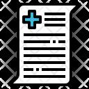Report Nurse Doctor Icon