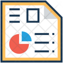 Report Graph Analysis Icon