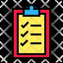Report Checklist Clipboard Icon