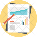Growing Graph Business Icon