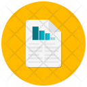 Bars Document Chart Icon