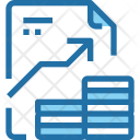 Financial Document Report Icon
