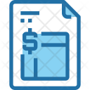 Report Financial Document Icon