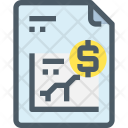 Document Financial Report Icon