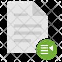 Report List Listing Icon