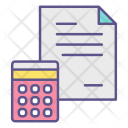 Report Accounts Calculation Icon