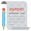 Report Business Statement Icon
