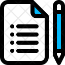 File Notes Report Icon