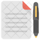 Report Record Notes Icon