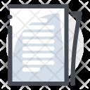 Report Paper Document Icon
