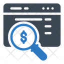 Report Analysis Search Study Icon
