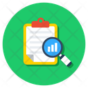 Report Analysis Report Monitoring Survey Icon