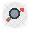 Analytic Growth Search Icon